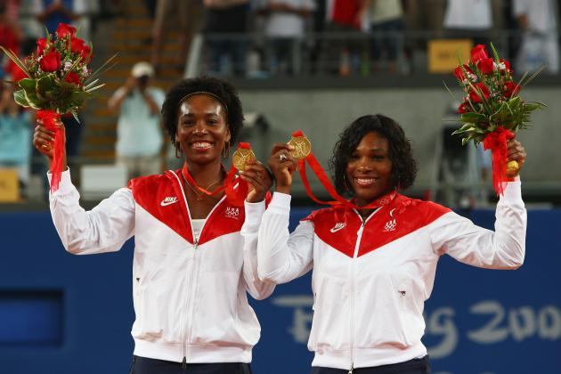 Serena and Venus captured two more gold medals during doubles competition in 2008 in Beijing.