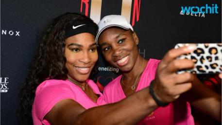 After the first annual Serena Williams South Beach Ultimate Run, the sisters take time out for a selfie.