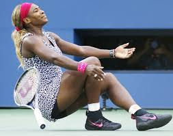 Serena Emotional in Victory