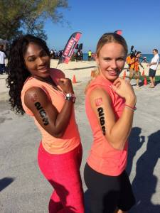 Best gal pals vacation in the Bahamas, 2014. Source Serena Williams facebook page.
