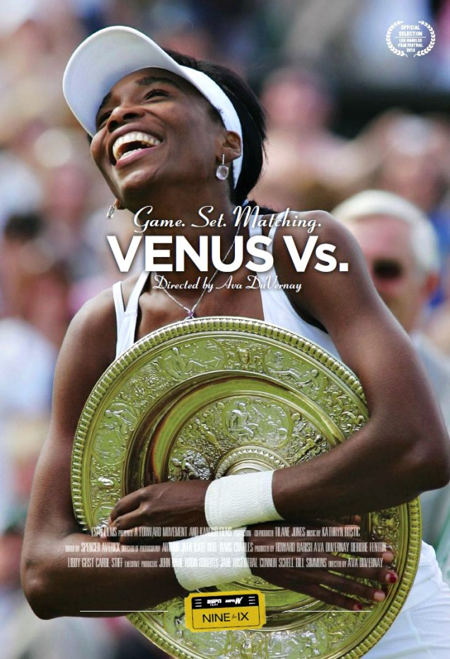 "ESPN FILMS first Nine for IX espisode: Venus Williams documentary ""VENUS VS."""