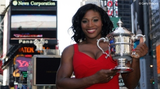 2008 US Open: Serena won the title then returned to No.1 for the first time since the 2003 season.