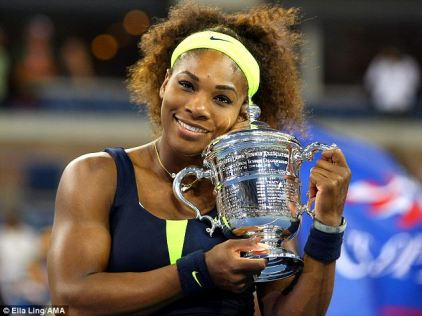 2012 US Open: Serena made more magic in New York, coming back to beat Victoria Azarenka for the title.