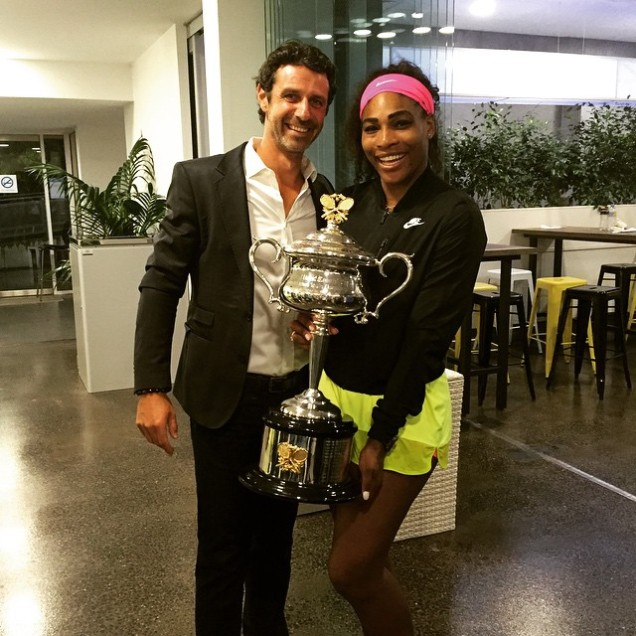 SERENA WITH PATRICK