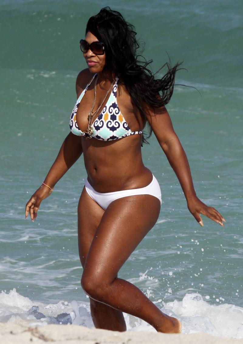 Congratulate, this Serena williams bikini