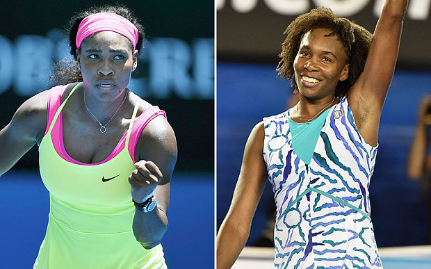 Credit where it's due: The Williams sisters' achievements continue to be met largely with indifference Photo: GETTY IMAGES