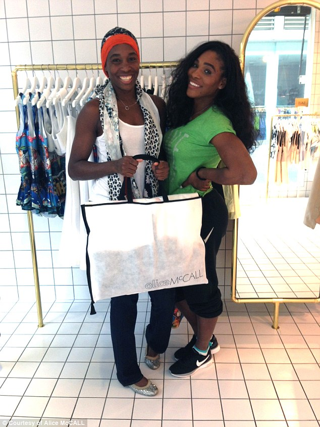 Tennis power sisters Serena and Venus Williams, world number one and 18 respectively, take a break from their demanding training sessions for some retail therapy.  Flexed their sartorial muscles as they made a beeline Melbourne's fashion juggernaut, Chapel Street.