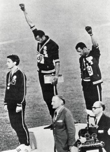 BLACK POWER SALUTE AT THE 1968 OLYMPICS 2