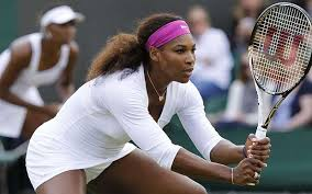 SERENA READY TO STRIKE