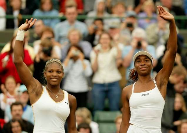 VENUS AND SERENA STUN TENNIS WORLD
