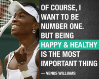 VENUS QUOTE BEING HEALTHY