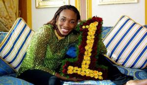 Venus Williams World No.1. On February 25, 2002 . (Photo Source: www.tennisworld.usa.org)