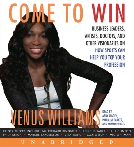 VENUS WILLIAMS COME TO WIN BOOK